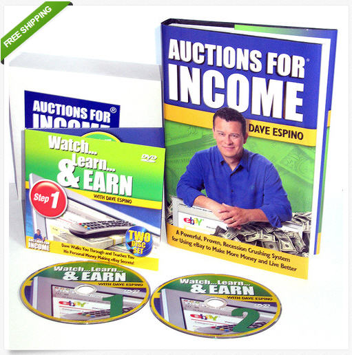 Dave Espino Auctions For Income