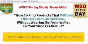 Amazon Gold - The Lazy Way To Amazon Profits