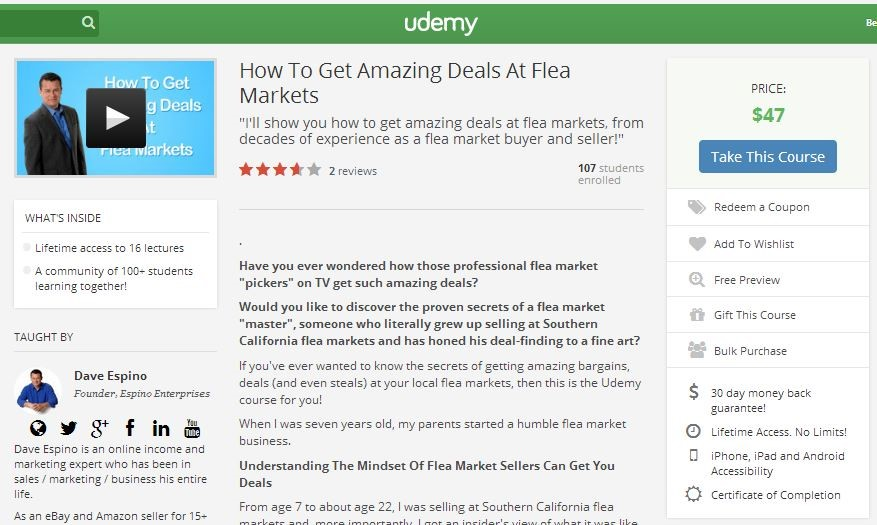 UdemyFleaMarketCourse